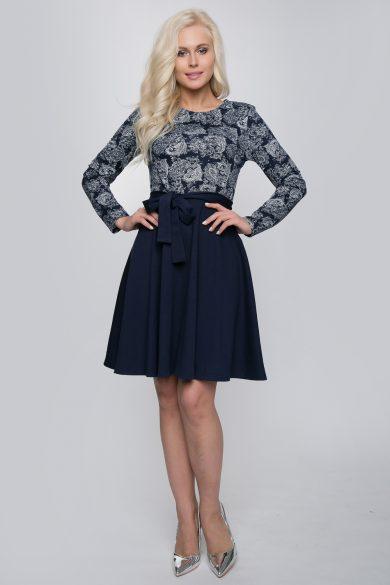 Комбинированное платье 197