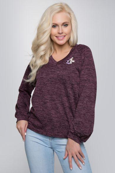 Трикотажный пуловер 203