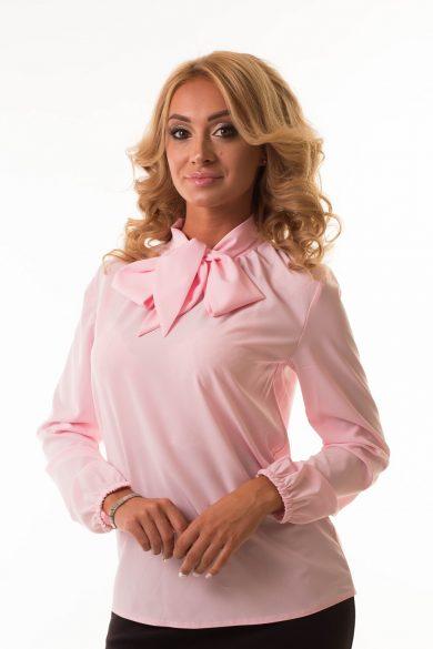 Блуза с бантом Malina Style арт.193