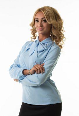 Блуза с бантом Malina Style арт.194