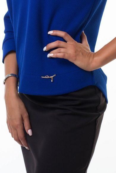 Блуза из трикотажа Malina Style арт. 183 фактура