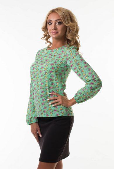 Блузка в мелкий цветочек Malina Style (151)
