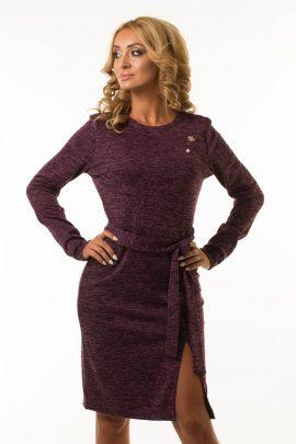 Платье с разрезом Malina Style арт.195