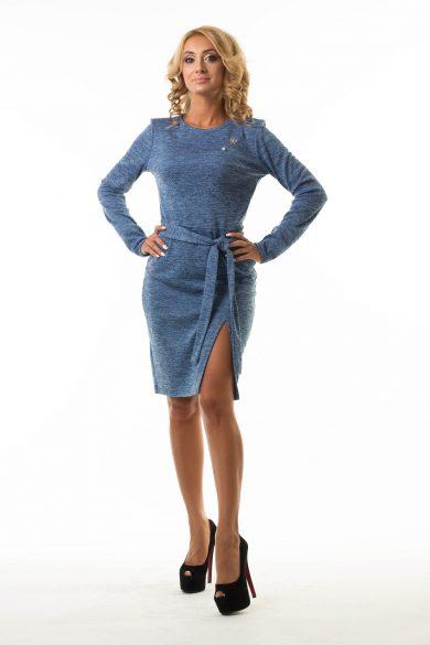 Платье с разрезом Malina Style (арт. 196)
