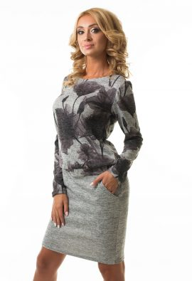Платье с напуском Malina Style арт.188