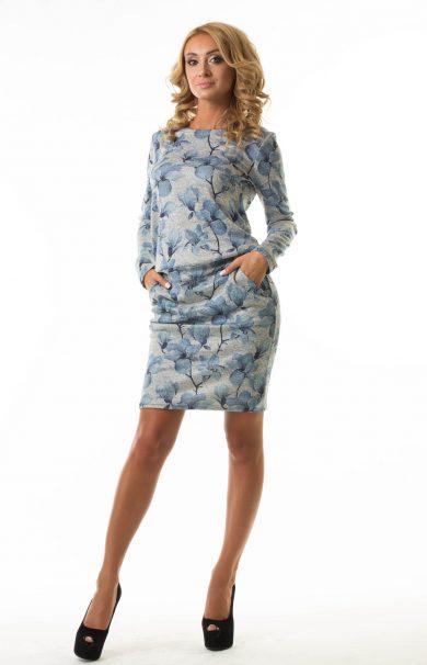 Платье с напуском Malina Style (арт. 190)
