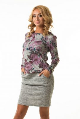 Платье с напуском Malina Style арт.189